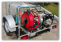 Мобильный пожарный модуль