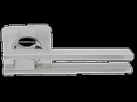 Дверная ручка на розетке Armadillo Bristol SQ006-21SN/CP-3 матовый никель/хром
