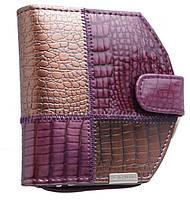 Женское модное портмоне на кнопке AE 1869 violet