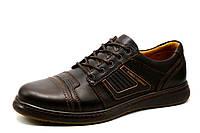 Туфли Bumer, мужские, натуральная кожа, коричневые, фото 1