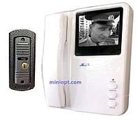 """Видеодомофон JEJA 288M (ч/б, 4"""")"""