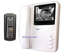 "Видеодомофон JEJA 288M (ч/б, 4""), фото 1"