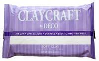 Полимерная глина Clay Craft by Deco© (decoclay) белая