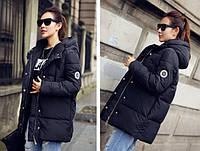 Куртка парка на пуху (черная) . Оригинал.