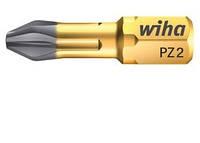 Биты PZ 2, WIHA DuraBit, форма C 6,3. 25 мм