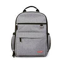 Рюкзак для мамы Duo цвет Heather Grey, Skip Hop