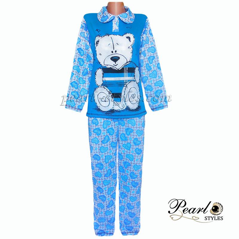 Теплая пижама начесная оптом и в розницу