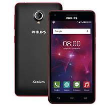 Мобильный телефон Philips V377 Black-Red, фото 2