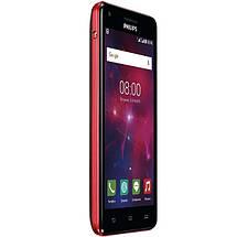 Мобильный телефон Philips V377 Black-Red, фото 3