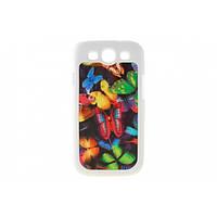 """Накладка 3D для Samsung S3 I9300/S3 Neo Duos I9300i """"Живые бабочки"""""""