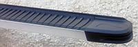 Volkswagen Crafter 2006+ и 2011+ гг. Боковые площадки Maya V1 (2 шт., алюминий) Long/ExtraLong