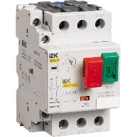 Пускатель ручной кнопочный (автомат защиты двигателя) ПРК32-0,63 In=0.63 Ir=0.4-0.63