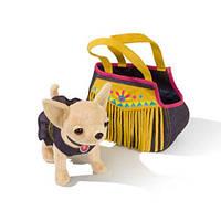 "Собачка чихуахуа Chi Chi Love ""индийский стиль"" с сумочкой и браслетом Simba 5895102"