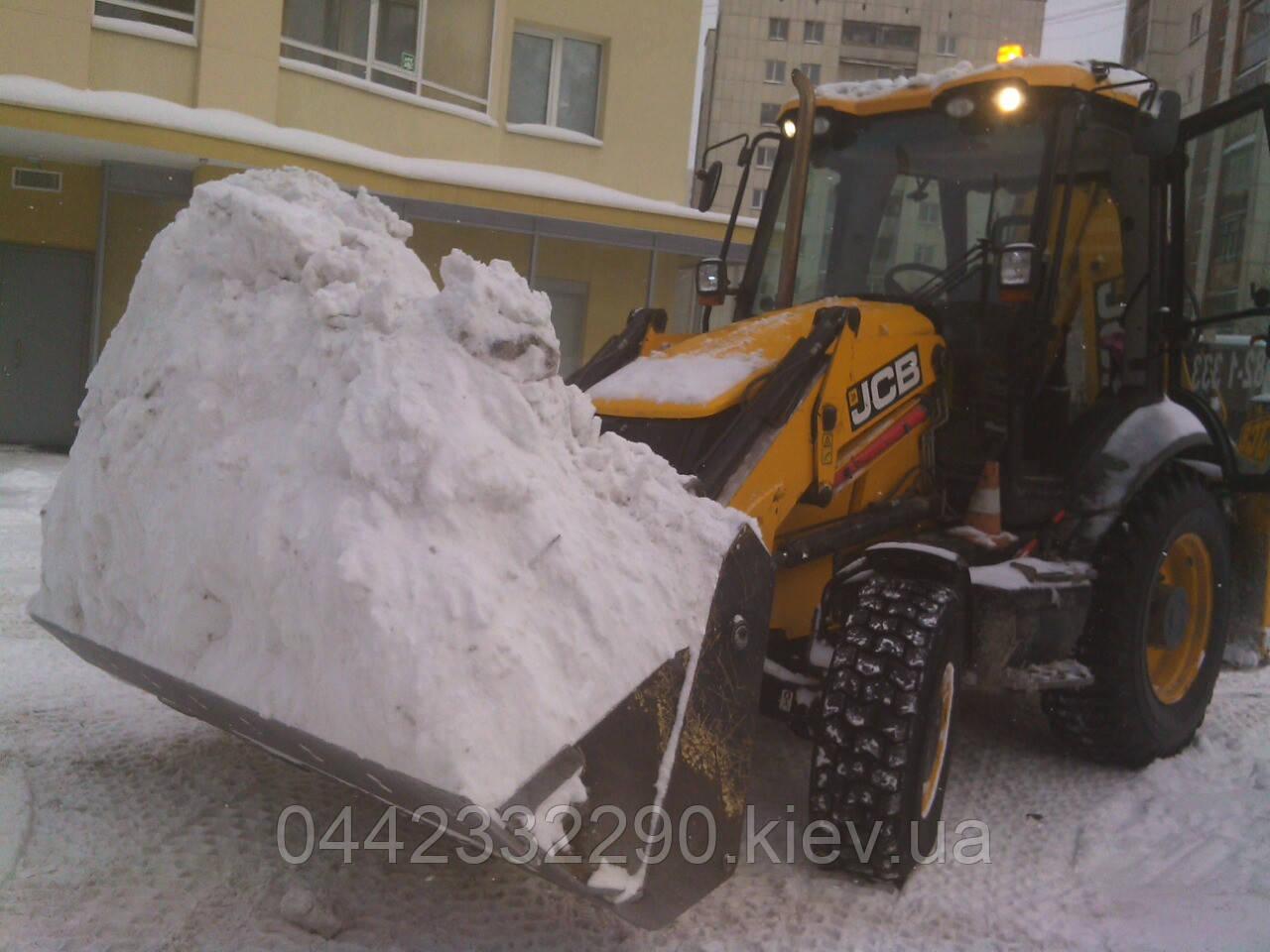Заказать снегоуборочные работы в Киеве