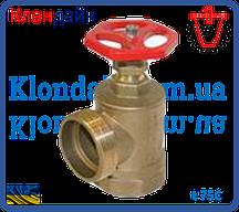 Вентиль латунный PN 16 для пара t225С (15Б1п) угловой 2 ВН
