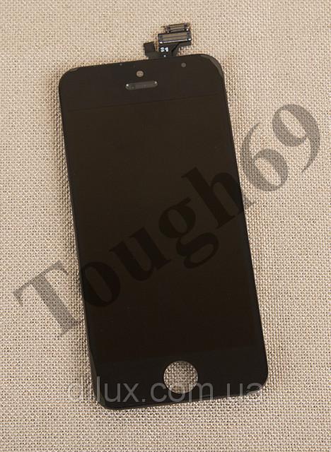 Дисплей LCD + Touchscreen iPhone 5s черный