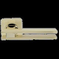 Дверная ручка на розетке Armadillo Bristol SQ006-21SG/GP-4 матовое золото