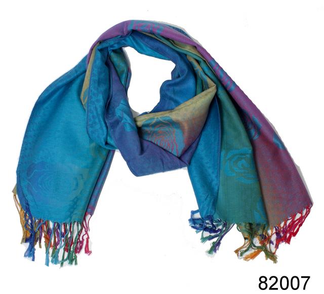 Радужный палантин Карина (82007) 3