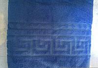 Плед из микрофибры Версаче синий