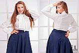 Блузка батальная (3 цвета), фото 4