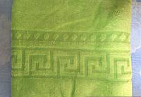 Плед из микрофибры Версаче салатовый