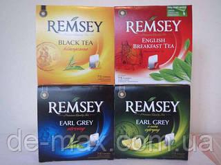 Чай Ramsey Черный  75шт