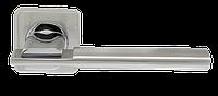 Дверная ручка на розетке Armadillo Trinity SQ005-21SN/CP-3 матовый никель