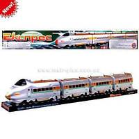 Поезд Експрес в слюде на бат муз 74*9*11см M 0335 U/R