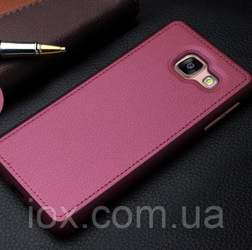 Чохол бардовий для Samsung Galaxy A3 (2016)