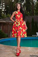 Платье с вырезом на спинке М122