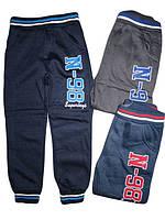 Спортивные утеплённые штаны для мальчиков, EVIL, размеры 8-16 лет, арт. KE-127