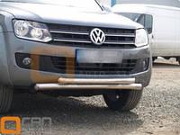 Двойная дуга по бамперу на Volkswagen Amarok