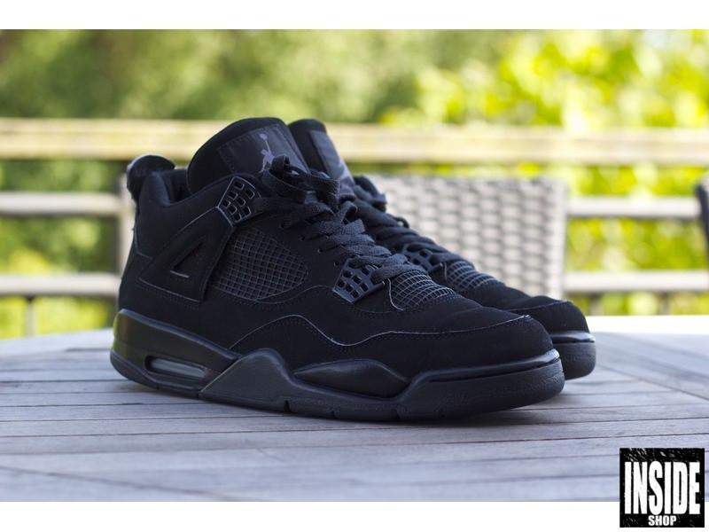 best sneakers 406a2 3764a ... cheap air jordan 4 retro black cat inside 493f5 141de