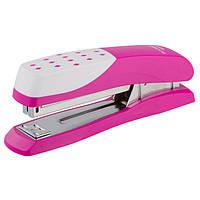 Степлер BuroMAX 25л. №24 4233-10 розовый