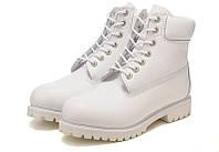 Ботинки Timberland 6 inch All White (Тимберленд)