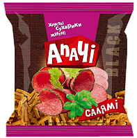 Сухарики ТМ Апачи ржаные салями 35 гр