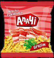 Сухарики ТМ Апачи бекон 35 гр