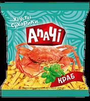 Сухарики ТМ Апачи краб 35 гр