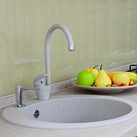 Белая кухонная мойка из камня Franke Ronda ROG 610