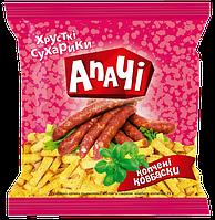 Сухарики ТМ Апачи с копченой колбаской 35 гр