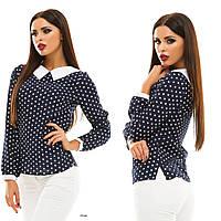 Блуза жіноча з довгим рукавом 123 Жан