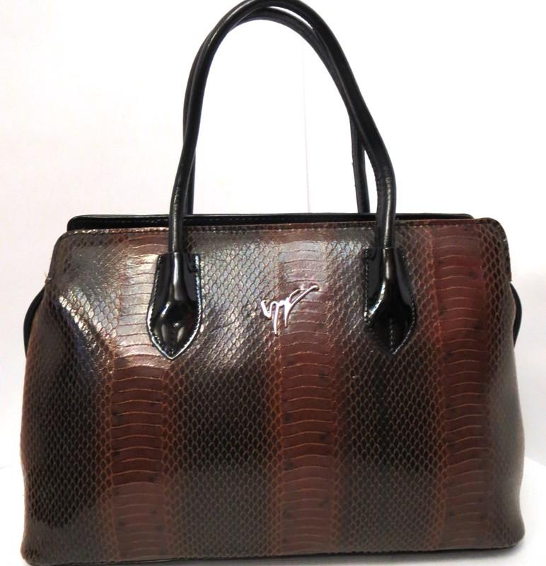 Женская деловая сумка из натуральной кожи