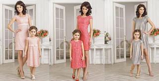 """Одежда """"family look"""" мама + дочка, одинаковая одежда"""