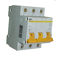 Автоматический выключатель ВА 47-60 3Р 16А 6 кА х-ка С, IEK