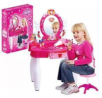 Трюмо детское 661-22 музыкальное со стульчиком и аксессуарами hn, кк