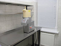 Полка двухярусная из нержавеющей стали, фото 1