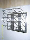 Полка двухярусная из нержавеющей стали, фото 5