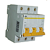 Автоматический выключатель ВА 47-60 3Р 6А 6 кА х-ка С, IEK