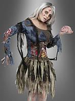Женское карнавальное платье, для образа зомби
