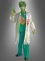 Мужской карнавальный костюм для образа зомби, врача